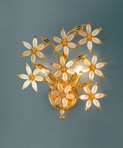 Applique 2 luci vetro Murano - Sweet Flower