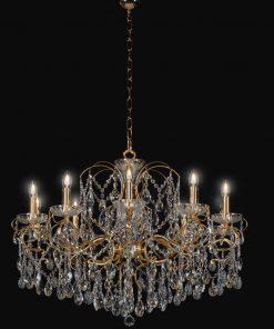 Lampadario 10 luci Luxury Crystal - Arredo Luce