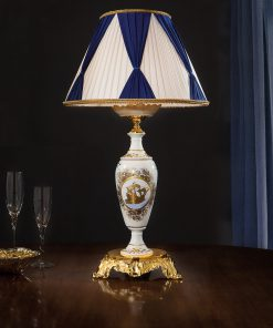 Lampada da tavolo 1 luce in fusione artistica - Monica & MIluna - Arredo Luce