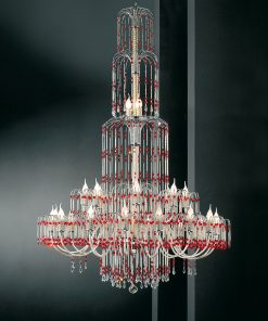Lampadario 27 luci - Royal Crystal - Arredo Luce