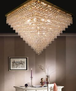 Plafoniera 16 luci - Luxury Crystal - Arredo Luce