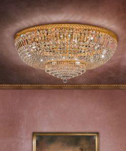 Plafoniera 18 luci - Luxury Crystal - Arredo Luce