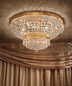 Plafoniera 11 luci - Luxury Crystal - Arredo Luce