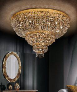 Plafoniera 15 luci - Luxury Crystal - Arredo Luce