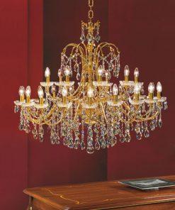 Lampadario 30 luci Luxury Crystal - Arredo Luce