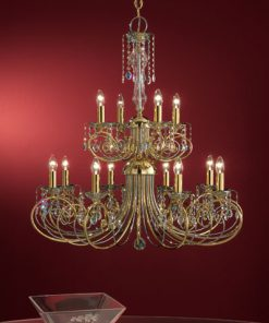 Lampadario 12 luci Luxury Crystal - Arredo Luce