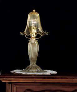 Lume 1 luce - vetrilamp - cristallo-oro- 1013/L