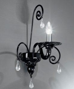 Applique 1 luce 1185/a1- vetrilamp