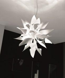 Sospensione 12 luci - Selene Ginger-1080 - fasce danzanti