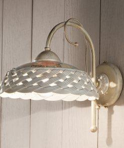Applique in Ceramica Lucida C973 Verona - Ferroluce
