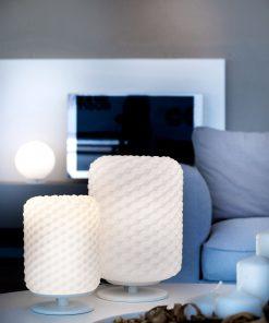 Lampada da tavolo 1 luce Selene Domino 2775