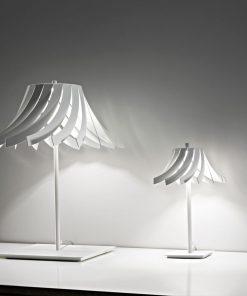 lampada da tavolo 1 luce selene panama- 1057