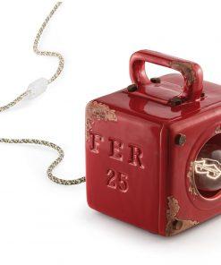 lampada da tavolo industrial C1650 (VIR) - Ferroluce Retrò