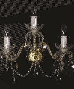 Applique 3 luci - De Luxe 3 gold - Wranovsky