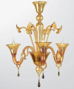 Lampadario a tre luci Classic Collection 5800 - Arte di Murano