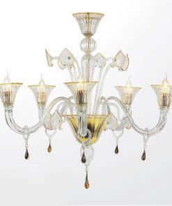 Lampadario a otto luci Classic Collection 5800 - Arte di Murano