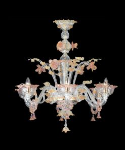 Lampadario a cinque luci Classic Collection 6163 - Arte di Murano