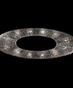 ATOLL sospensione - collezione Crystalight di MANOOI