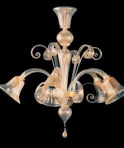 Lampadario 5 luci Classic Collection - 6243/5- Arte di Murano
