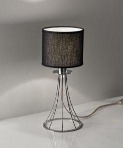 Lampada da tavolo in cromo 256.121.03 Metal lux