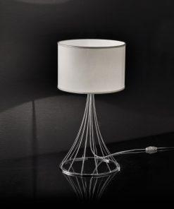 Lampada da tavolo in cromo 256.230.02 Metal lux