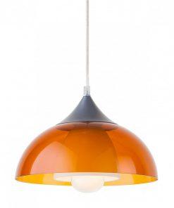 sospensione 1 luce -Coline - 06-033- ambra trasparente- Lucilla Giovane