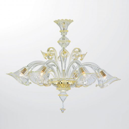Lampadario 8  luci Classic Collection - 6533/8 - Arte di Murano