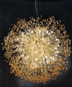 Sospensione 60 luci - oro - Atro - Metal lux - Lucilla - 205.620.06