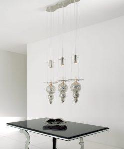 Sospensione 3 luci - 7908/SP3 - Modern Collection - Arte di Murano