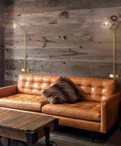 Piantana 1 luce  in oro  satinato - 261.911-  collezione Dolce di Metal Lux