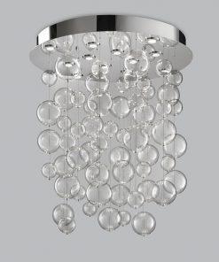 Sospensione 12 luci base inox  - 251.090 - Bolero - Metal Lux