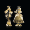 Goldoniani oro filo nero - Arte di Murano