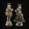 Goldoniani nero e oro - Arte di Murano
