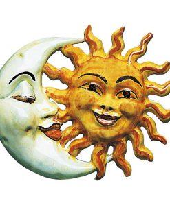 Abbraccio Sole - Luna - Simonetti ceramica di Castelli