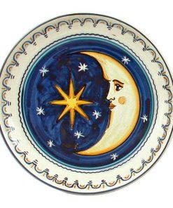 """Piatto """"Stella e Luna"""" - Simonetti ceramica di Castelli"""