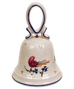 Campanelle uccellino rosso - Simonetti ceramica di Castelli