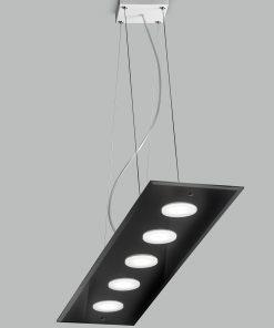 Sospensione 5 luci - 259.105 - collezione Dado  - Metal Lux