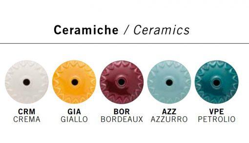 Sospensione  1 luce - C1631 - AZZURRO  Colors Collection - FerroLuce Retrò