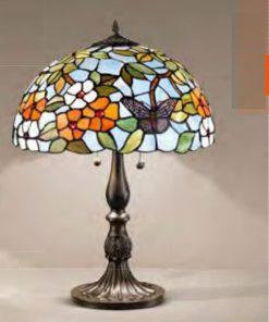 Lampada 2 luci Tiffany - T998 LG - Perenz