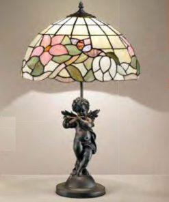 Lampada 1 luce Tiffany -T616 LG -  Perenz