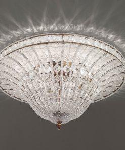 Arredoluce - plafoniera 5 luci finitura brunito - 851/PL60