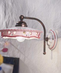 Applique 1 luce Ferroluce Classic - C538- Alessandria