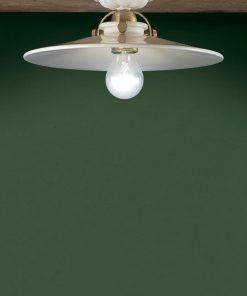 Ferroluce - Plafoniera 1 luce - Asti -C104