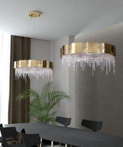 lampadario 12 luci 9183_80 Mondrian- Castro Lighting
