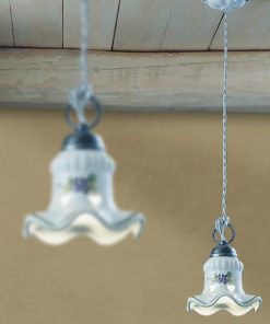 Rustic ceramic suspension