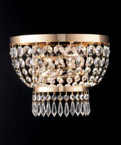 gold wall lamp