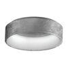 silver foil ceiling lamp