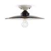 1-light ceiling lamp black