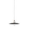 1-light suspension lamp - black
