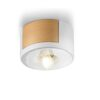 nordic style ceiling lamp - white